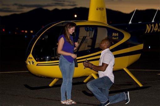 romantic flight, scenic flight, proposal flight, flight over denver